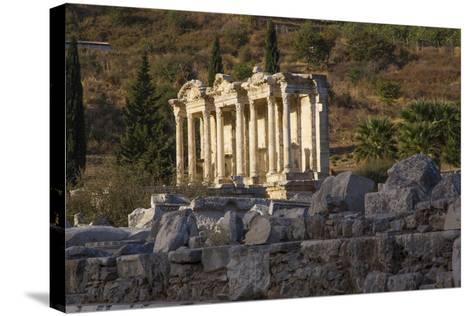 Turkey, Izmir, KUSAdasi. Ephesus, the Temple of Artemis-Emily Wilson-Stretched Canvas Print
