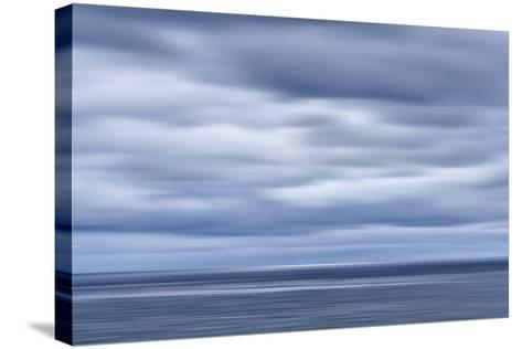 USA, California, San Diego, View of Blurred Clouds over Pacific Ocean-Ann Collins-Stretched Canvas Print