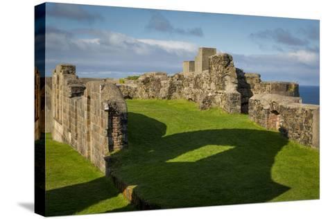 Ruins of Downhill Demesne Mansion Near Castlerock, County Londonderry, Northern Ireland, Uk-Brian Jannsen-Stretched Canvas Print