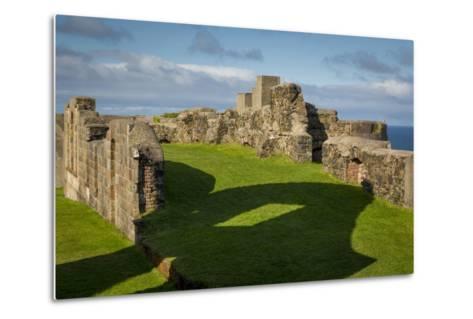 Ruins of Downhill Demesne Mansion Near Castlerock, County Londonderry, Northern Ireland, Uk-Brian Jannsen-Metal Print