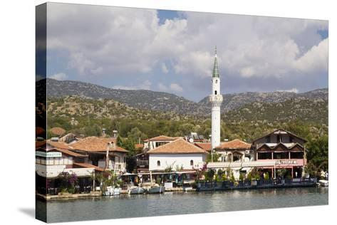Turkey, Kas, Kekova Is a Small Turkish Island Near Demre District of Antalya Province-Emily Wilson-Stretched Canvas Print