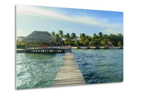 Saint Georges Caye Resort, Belize, Central America-Stuart Westmorland-Metal Print