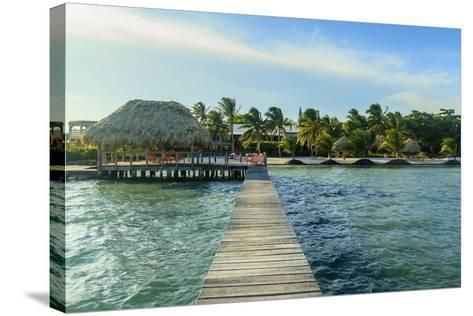 Saint Georges Caye Resort, Belize, Central America-Stuart Westmorland-Stretched Canvas Print
