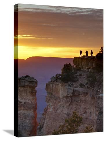 USA, Arizona, Grand Canyon National Park, Sunrise at Yaki Point-Ann Collins-Stretched Canvas Print