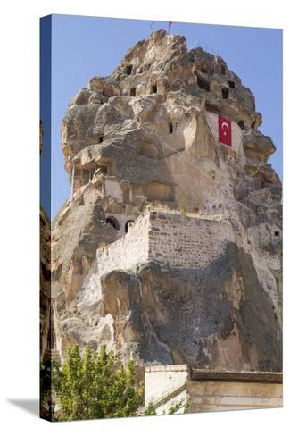 Turkey. Christian Cave Churches and Monasteries in Cappadocia-Emily Wilson-Stretched Canvas Print