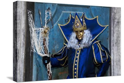 Venice at Carnival Time, Italy-Darrell Gulin-Stretched Canvas Print