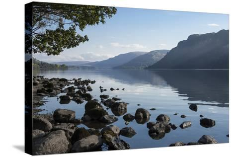 Lake Ullswater, Lake District National Park, Cumbria, England, United Kingdom, Europe-James Emmerson-Stretched Canvas Print