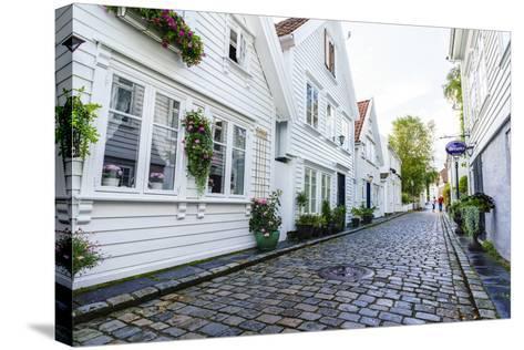 Old Stavanger (Gamle Stavanger), Rotaland-Amanda Hall-Stretched Canvas Print