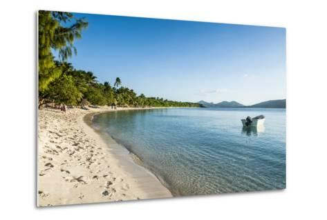 White Sand Beach, Oarsman Bay, Yasawa, Fiji, South Pacific-Michael Runkel-Metal Print