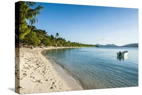 White Sand Beach, Oarsman Bay, Yasawa, Fiji, South Pacific-Michael Runkel-Stretched Canvas Print