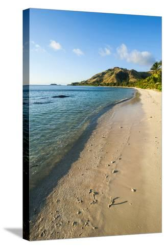 White Sandy Beach, Oarsman Bay, Yasawa, Fiji, South Pacific-Michael Runkel-Stretched Canvas Print