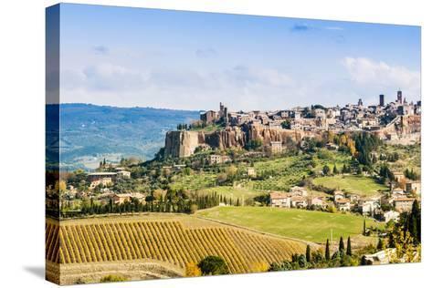 View of Orvieto, Umbria, Italy-Nico Tondini-Stretched Canvas Print