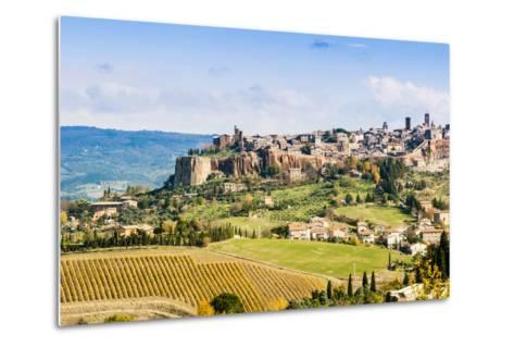 View of Orvieto, Umbria, Italy-Nico Tondini-Metal Print