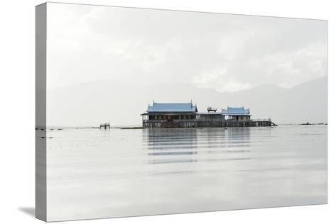 Old 20th Century British Lake Resort, Now Being Restored, Inle Lake, Shan State, Myanmar (Burma)-Annie Owen-Stretched Canvas Print