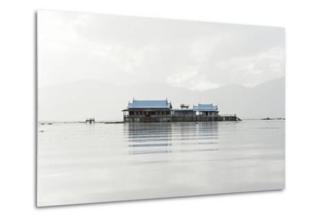 Old 20th Century British Lake Resort, Now Being Restored, Inle Lake, Shan State, Myanmar (Burma)-Annie Owen-Metal Print