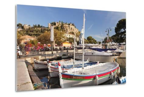 Fishing Boats at the Harbour, Southern France-Markus Lange-Metal Print