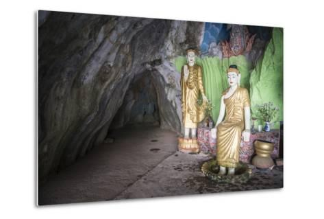 Cave Temple Near Mawlamyine, Mon State, Myanmar (Burma), Asia-Matthew Williams-Ellis-Metal Print