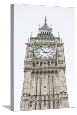 Big Ben (Elizabeth Tower), Houses of Parliament, Westminster, London, England, United Kingdom-Matthew Williams-Ellis-Stretched Canvas Print