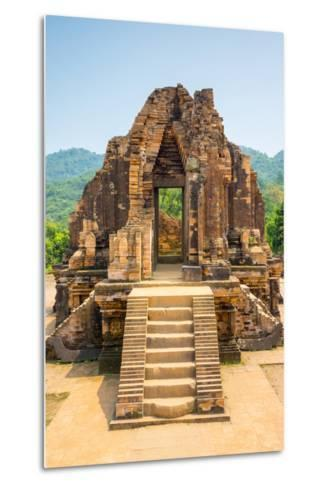 My Son Ruins, Cham Temple Site, Duy Xuyen District, Quang Nam Province, Vietnam-Jason Langley-Metal Print