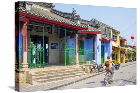 Trung Hoa Assembly Hall (Ngu Bang Assembly Hall), Hoi An, Quang Nam Province, Vietnam, Indochina-Jason Langley-Stretched Canvas Print
