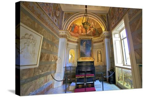 The Achilleion Chapel, Achilleion Palace, Corfu, the Ionian Islands, Greek Islands, Greece, Europe-Neil Farrin-Stretched Canvas Print