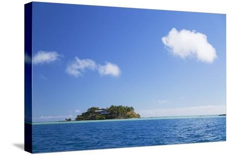 Wadigi Island, Mamanuca Islands, Fiji, South Pacific, Pacific-Ian Trower-Stretched Canvas Print