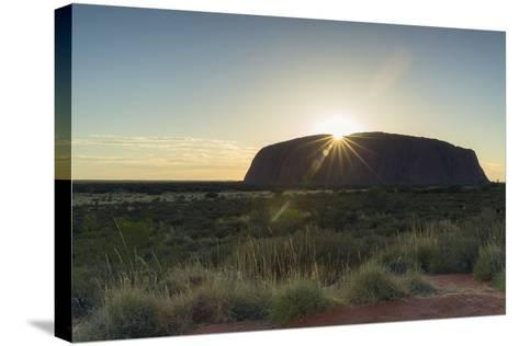 Uluru, Uluru-Kata Tjuta National Park, Northern Territory, Australia, Pacific-Ian Trower-Stretched Canvas Print