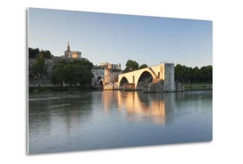 Bridge St. Benezet over Rhone River-Markus Lange-Metal Print