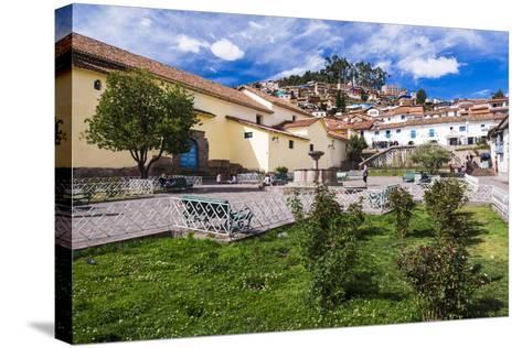San Blas Square (Plazoleta De San Blas), Cusco, Cusco Region, Peru, South America-Matthew Williams-Ellis-Stretched Canvas Print