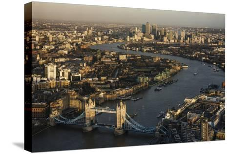The View from the Shard, London, England, United Kingdom, Europe-Ben Pipe-Stretched Canvas Print