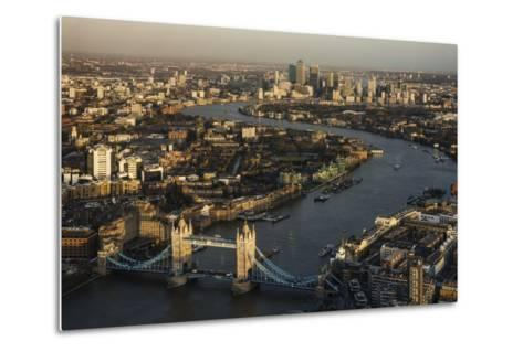The View from the Shard, London, England, United Kingdom, Europe-Ben Pipe-Metal Print