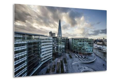 View from City Hall Rooftop over London Skyline, London, England, United Kingdom, Europe-Ben Pipe-Metal Print