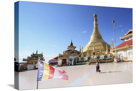 Kyaik Tan Lan Pagoda in Mawlamyine, Mon, Myanmar (Burma), Southeast Asia-Alex Robinson-Stretched Canvas Print