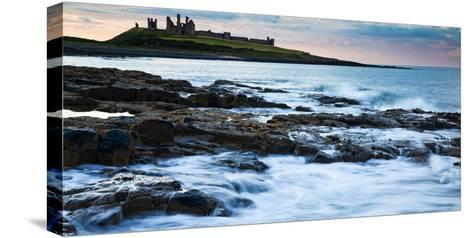 Dunstanburgh Castle, Northumberland, England, United Kingdom, Europe-John Alexander-Stretched Canvas Print