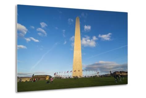 Obelisk of the Washington Monument at the Mall, Washington, District of Columbia, U.S.A.-Michael Runkel-Metal Print