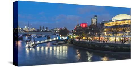 Southbank Centre, London-Matthew Williams-Ellis-Stretched Canvas Print