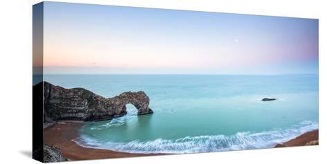Durdle Door, Jurassic Coast, UNESCO World Heritage Site, Dorset, England, United Kingdom, Europe-John Alexander-Stretched Canvas Print