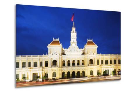 Hotel De Ville (City Hall), Ho Chi Minh City (Saigon), Vietnam, Indochina, Southeast Asia, Asia-Christian Kober-Metal Print