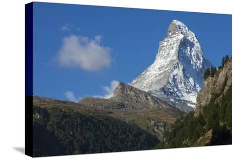 Matterhorn, 4478M, Zermatt, Swiss Alps, Switzerland, Europe-James Emmerson-Stretched Canvas Print