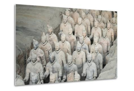 Museum of the Terracotta Warriors, Shaanxi Province, China-G & M Therin-Weise-Metal Print