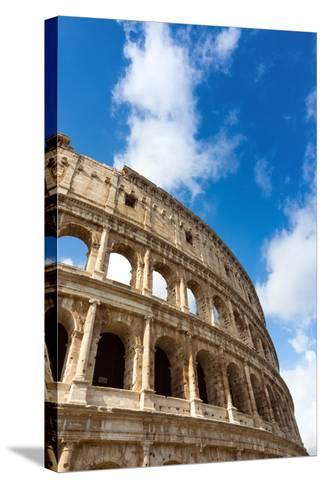 Colosseum or Flavian Amphitheatre, Rome, UNESCO World Heritage Site, Latium, Italy, Europe-Nico Tondini-Stretched Canvas Print
