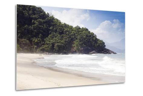 Praia Do Felix Beach, Ubatuba, Sao Paulo Province, Brazil, South America-Alex Robinson-Metal Print