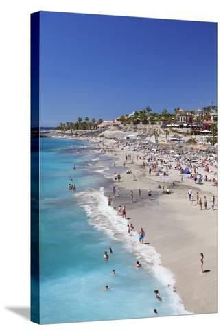 Playa Del Duque Beach at Costa Adeje, Tenerife, Canary Islands, Spain, Atlantic, Europe-Markus Lange-Stretched Canvas Print