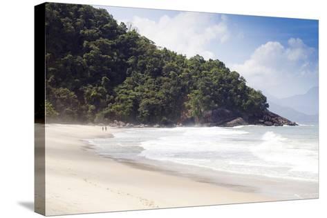 Praia Do Felix Beach, Ubatuba, Sao Paulo Province, Brazil, South America-Alex Robinson-Stretched Canvas Print