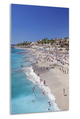 Playa Del Duque Beach at Costa Adeje, Tenerife, Canary Islands, Spain, Atlantic, Europe-Markus Lange-Metal Print