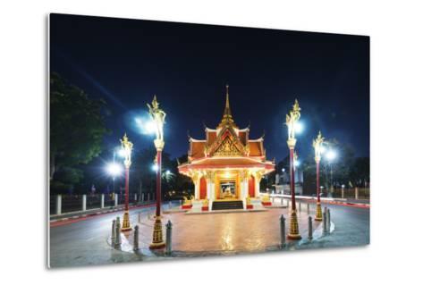 City Gate, Kanchanaburi, Thailand, Southeast Asia, Asia-Christian Kober-Metal Print