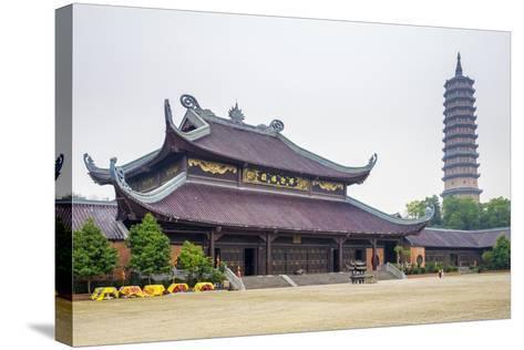 Bai Dinh Temple (Chua Bai Dinh), Gia Vien District, Ninh Binh Province, Vietnam, Indochina-Jason Langley-Stretched Canvas Print