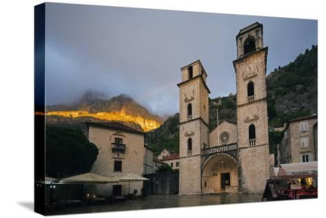 Svetog Tripuna Cathedral, Kotor, UNESCO World Heritage Site, Montenegro, Europe-Christian Kober-Stretched Canvas Print
