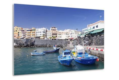 Fishing Boats at the Port, Los Abrigos, Tenerife, Canary Islands, Spain, Europe-Markus Lange-Metal Print