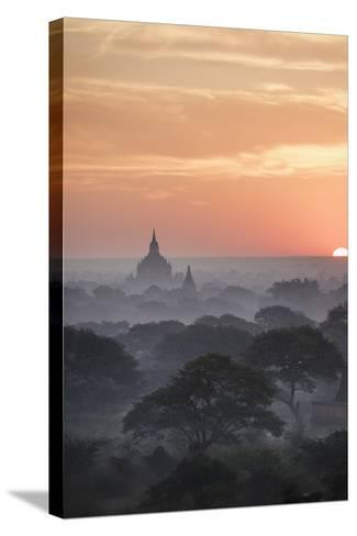 Bagan, Myanmar (Burma), Southeast Asia-Janette Hill-Stretched Canvas Print